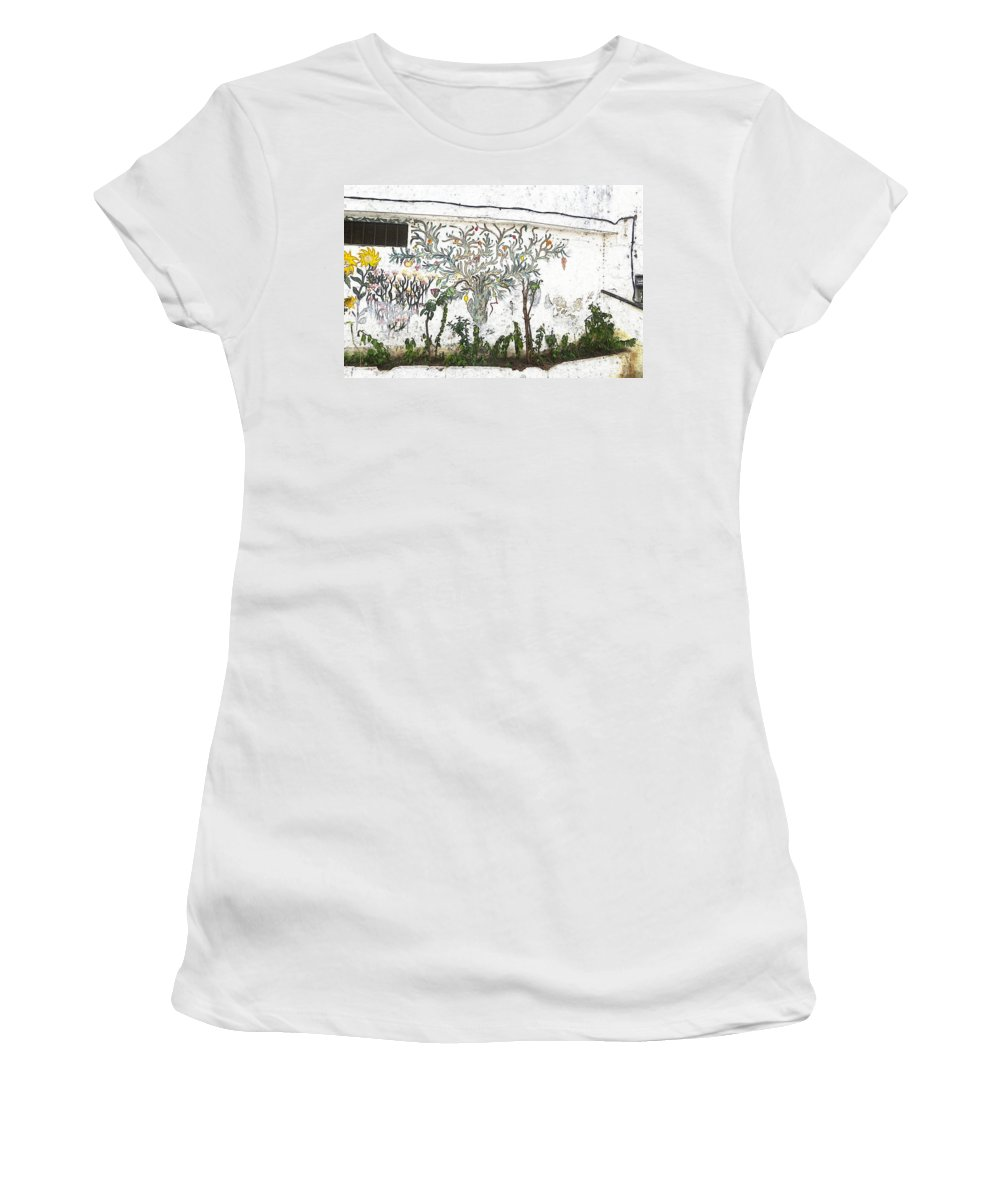 Moroccan Women's T-Shirt featuring the photograph Garden Delight by Candee Lucas