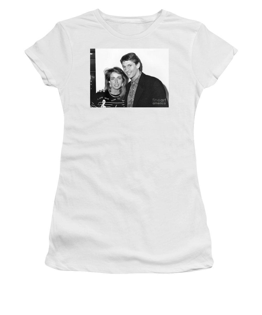 Gary Women's T-Shirt featuring the photograph Gary Lineker Footballer by David Fowler