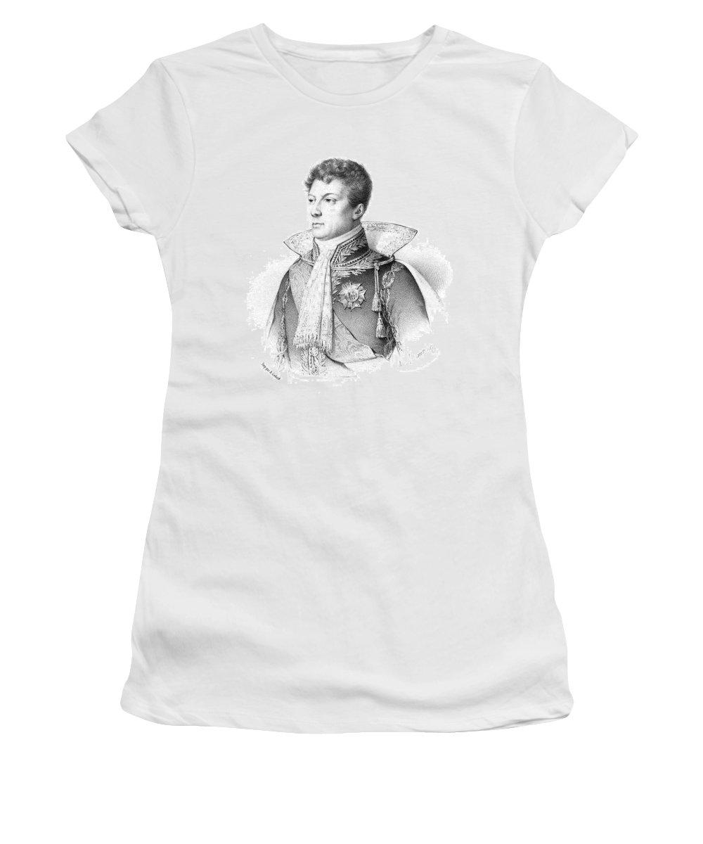 18th Century Women's T-Shirt (Athletic Fit) featuring the painting Geraud-christophe-michel Duroc, Duke De by Granger