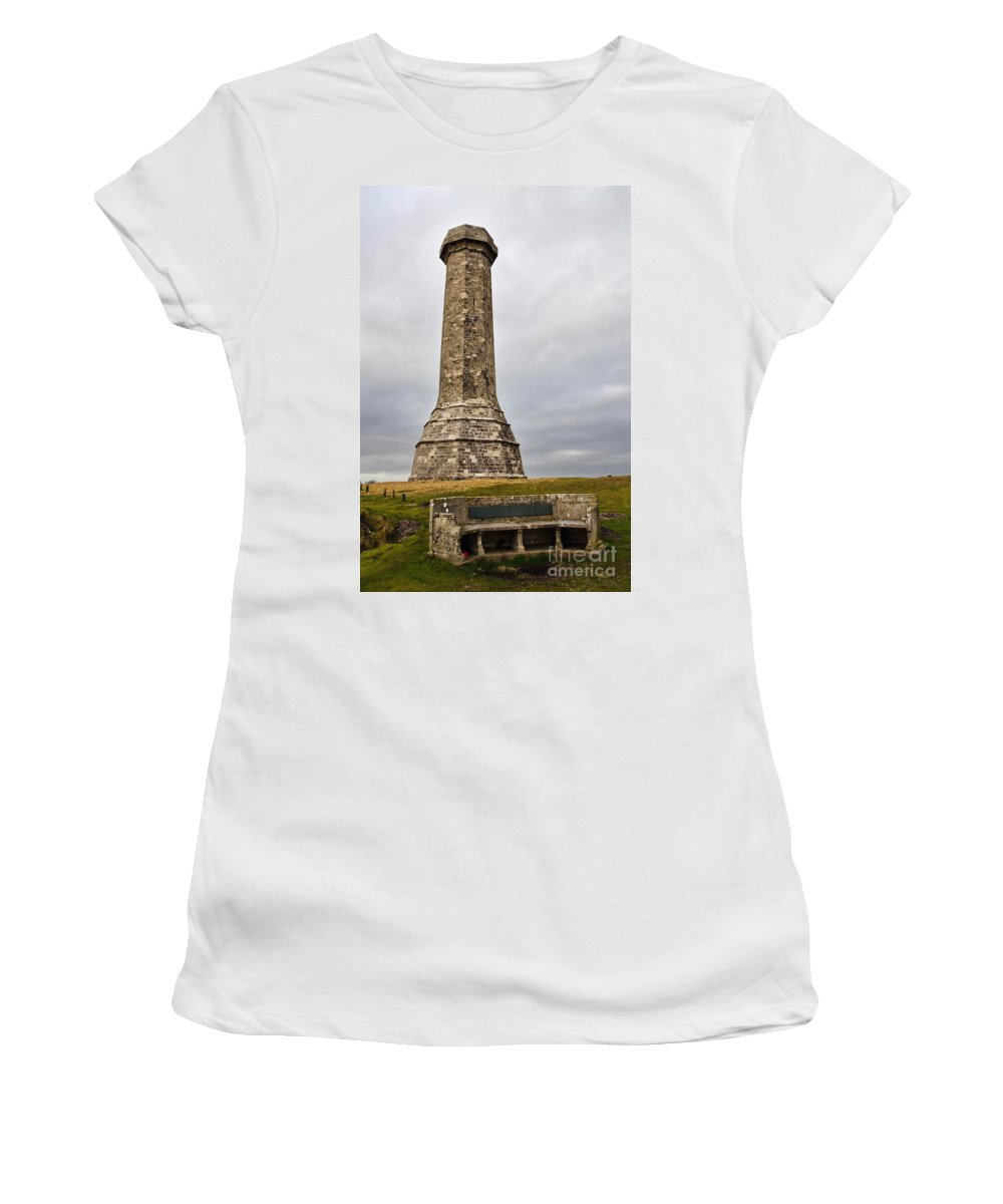 Hardy Women's T-Shirt (Athletic Fit) featuring the photograph Hardy Monument by Susie Peek