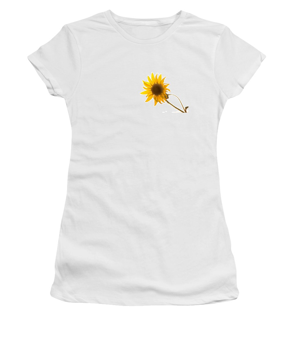 California Women's T-Shirt featuring the photograph Hello Yellow by Peter Tellone