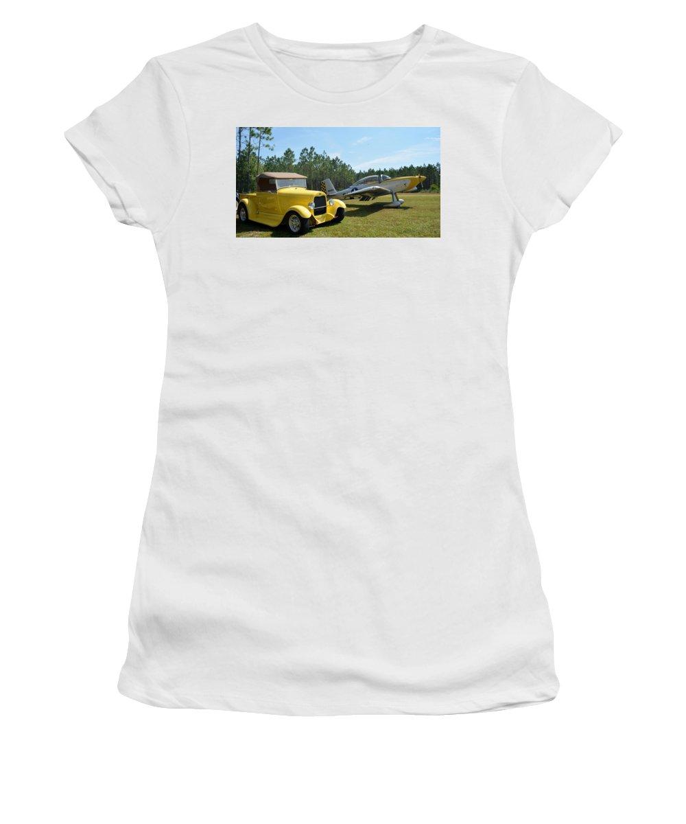Ford Women's T-Shirt featuring the photograph Hot Rods by Matt Abrams