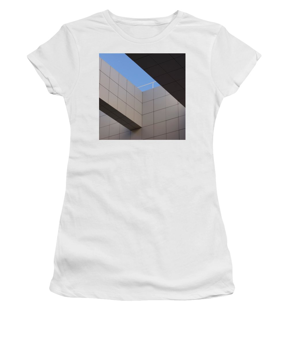 Illusion Women's T-Shirt (Athletic Fit) featuring the photograph Illusion 2 by Ernie Echols