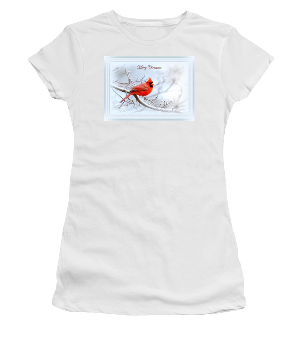 Cardinal Women's T-Shirt (Athletic Fit) featuring the photograph Img 2559-29 by Travis Truelove