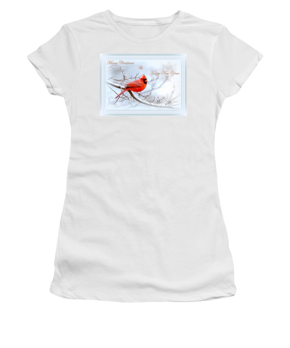 Cardinal Women's T-Shirt (Athletic Fit) featuring the photograph Img 2559-31 by Travis Truelove