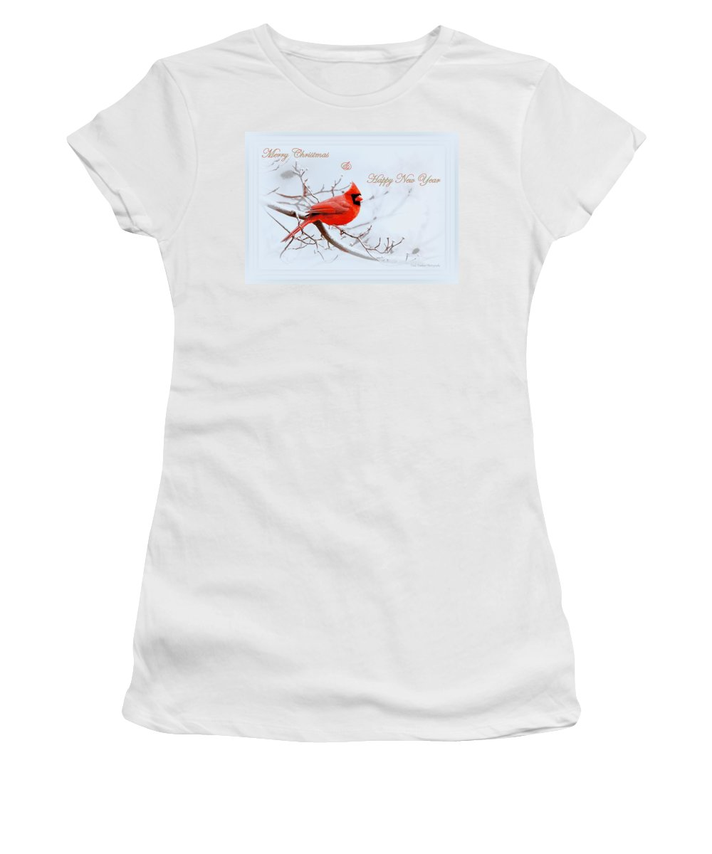 Cardinal Women's T-Shirt (Athletic Fit) featuring the photograph Img 2559-32 by Travis Truelove
