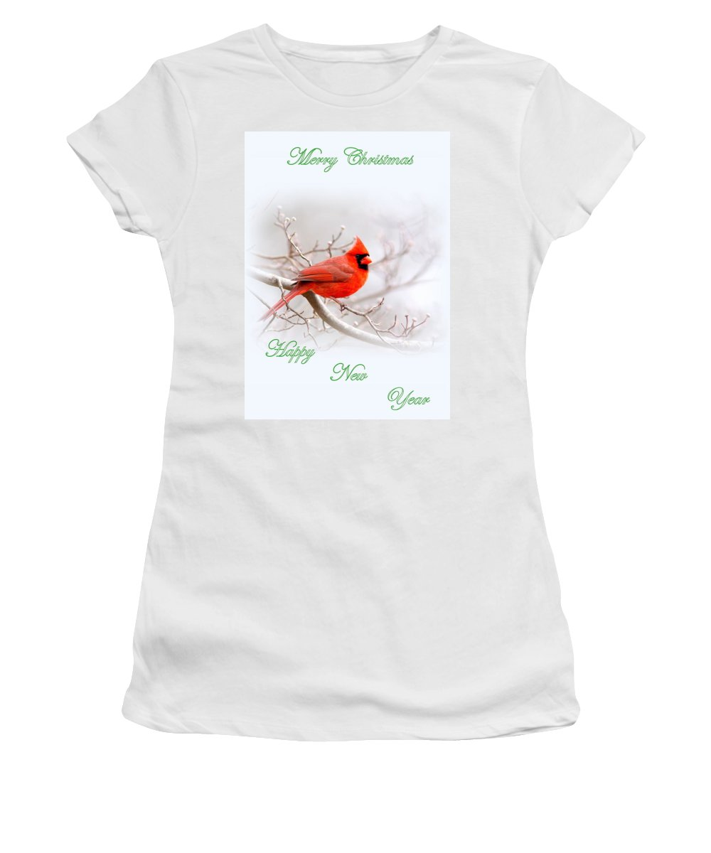 Cardinal Women's T-Shirt (Athletic Fit) featuring the photograph Img 2559-6 by Travis Truelove
