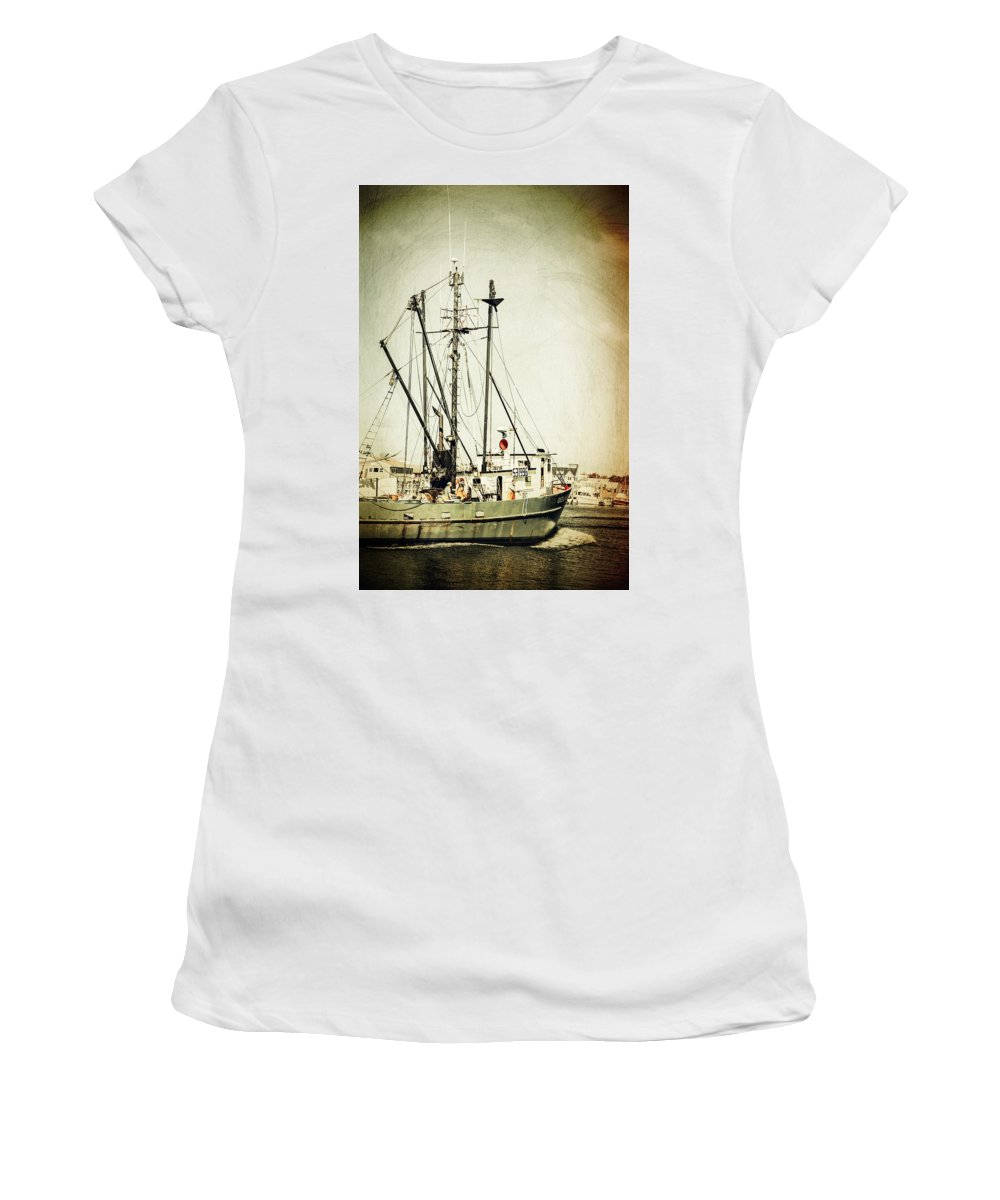 Coastal Women's T-Shirt (Athletic Fit) featuring the photograph In With The Tides by Karol Livote