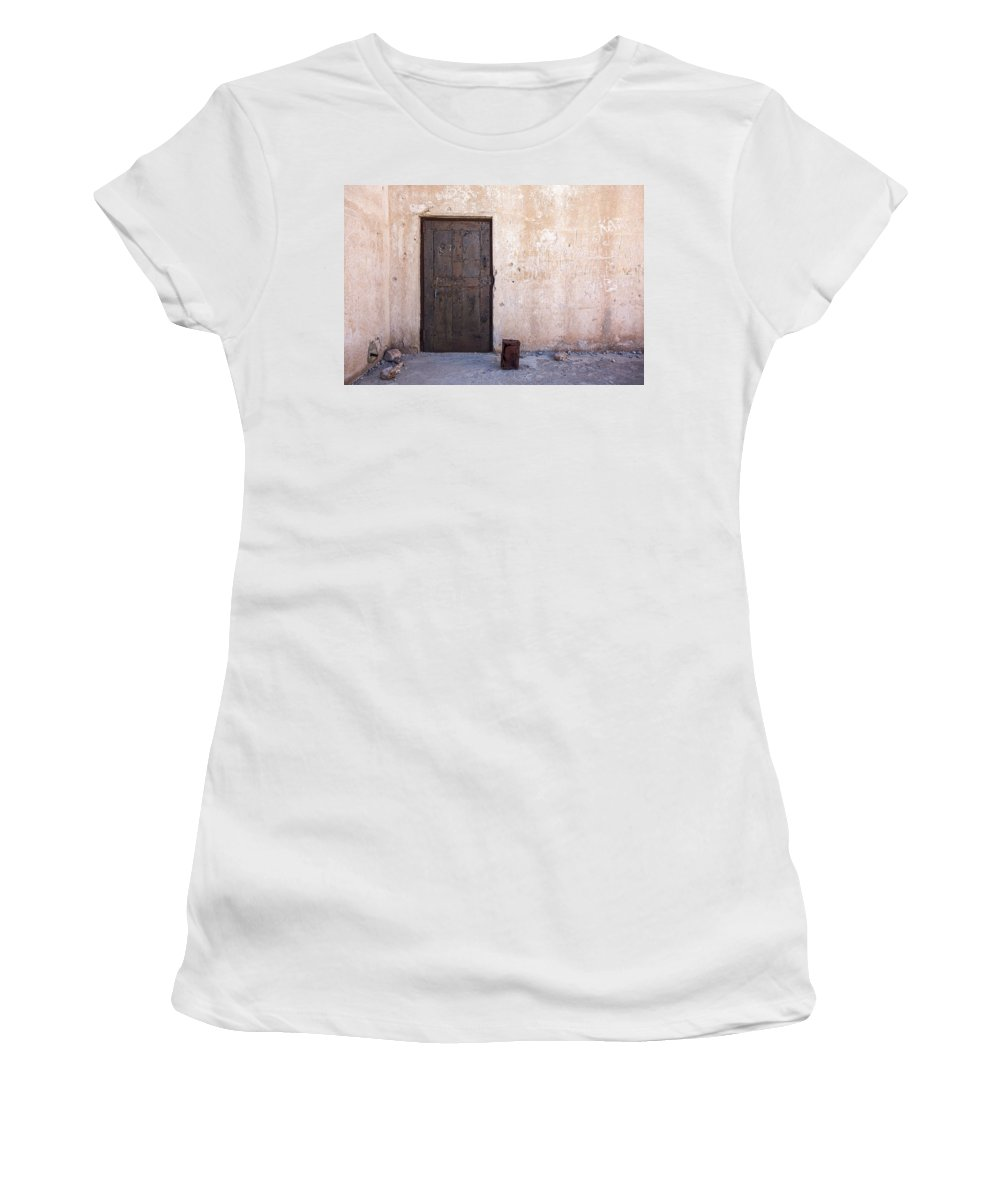 Jail Women's T-Shirt featuring the photograph Jail House Rocks by Peter Tellone