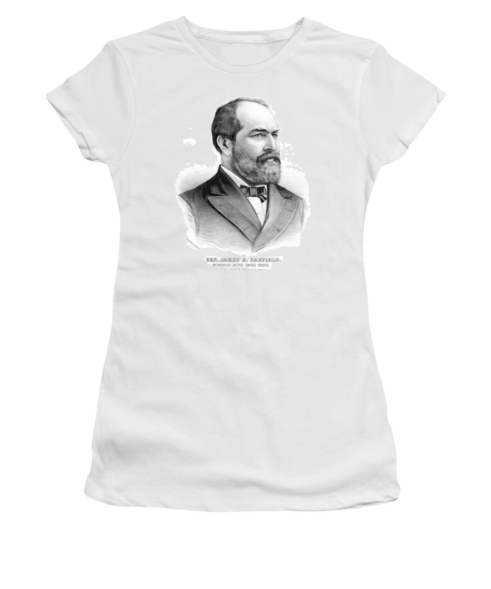 1880 Women's T-Shirt (Athletic Fit) featuring the painting James by Granger