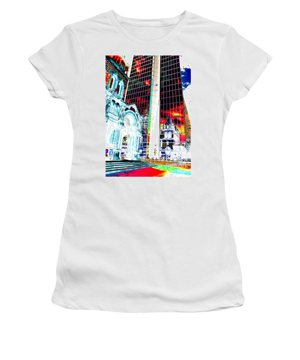 Ron Tackett Women's T-Shirt (Athletic Fit) featuring the photograph Judged by Ron Tackett