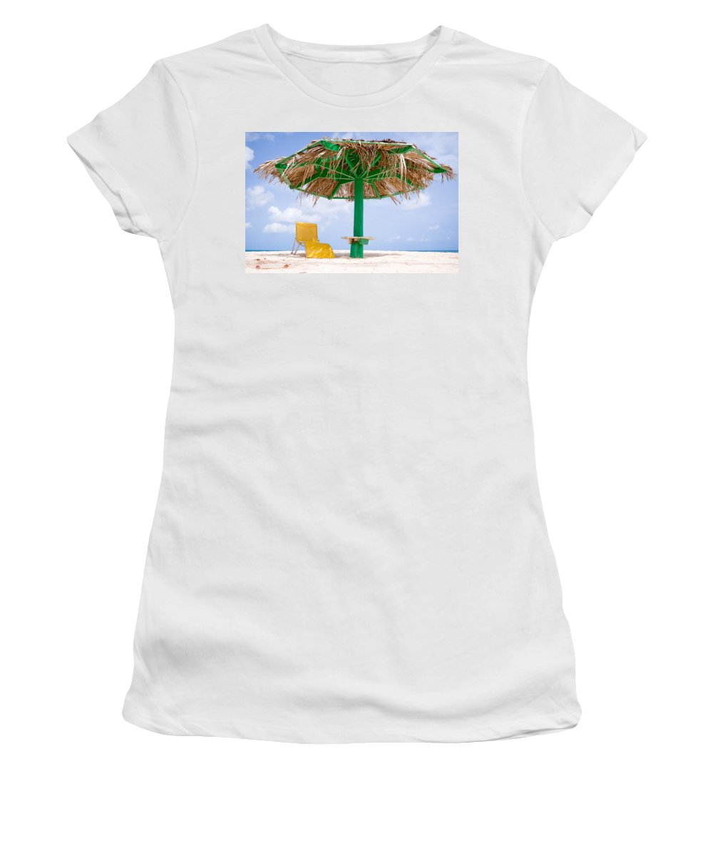 Sand Haven Women's T-Shirt featuring the photograph Just For You by Ferry Zievinger