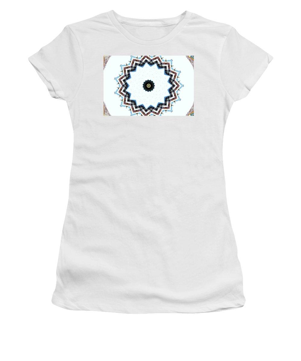 Kaleidoscopes Women's T-Shirt (Athletic Fit) featuring the photograph K9 by Mechala Matthews