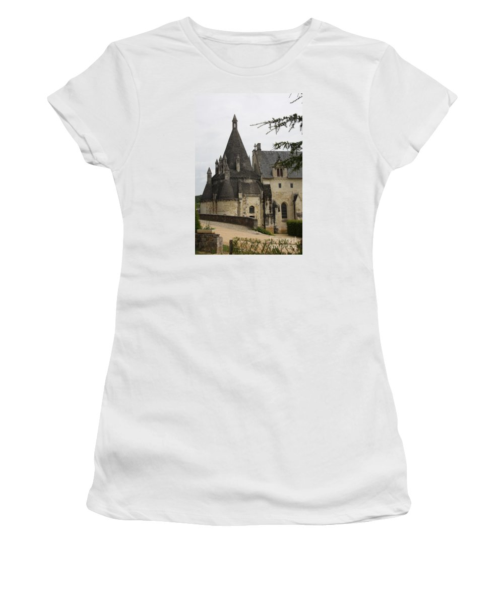 Kitchen Women's T-Shirt (Athletic Fit) featuring the photograph Kitchenbuilding - Fontevraud by Christiane Schulze Art And Photography