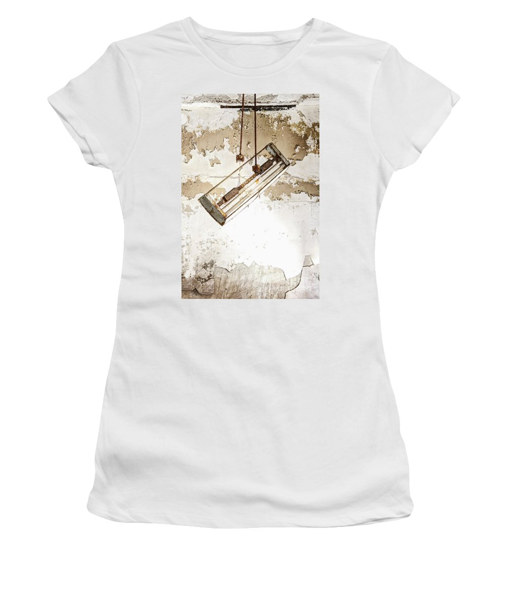 Light Women's T-Shirt featuring the photograph Lights Out by Margie Hurwich