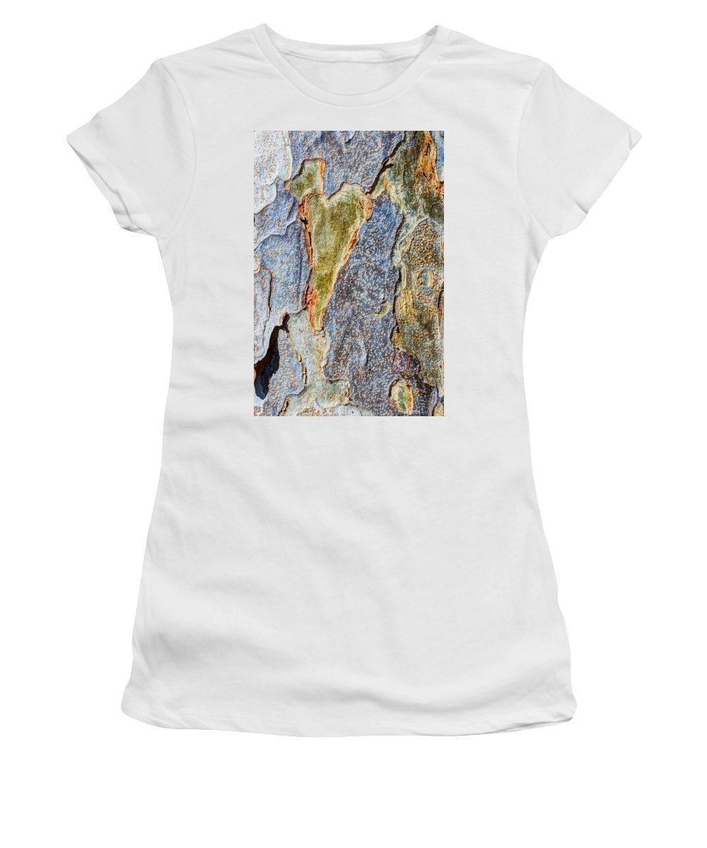 Tree Women's T-Shirt (Athletic Fit) featuring the photograph Love In The Abstract by Heidi Smith