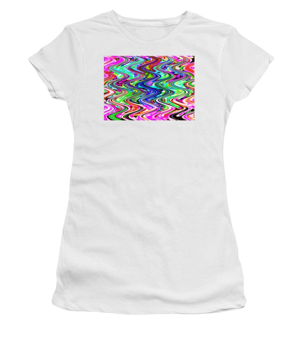 Digital Image Women's T-Shirt (Athletic Fit) featuring the digital art Magic by Yael VanGruber