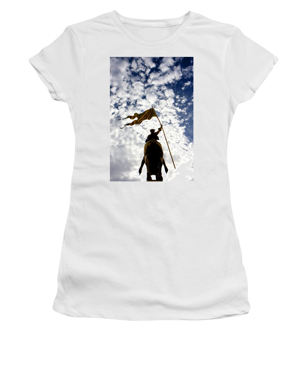 Kg Women's T-Shirt (Athletic Fit) featuring the photograph Maid Of New Orleans by KG Thienemann