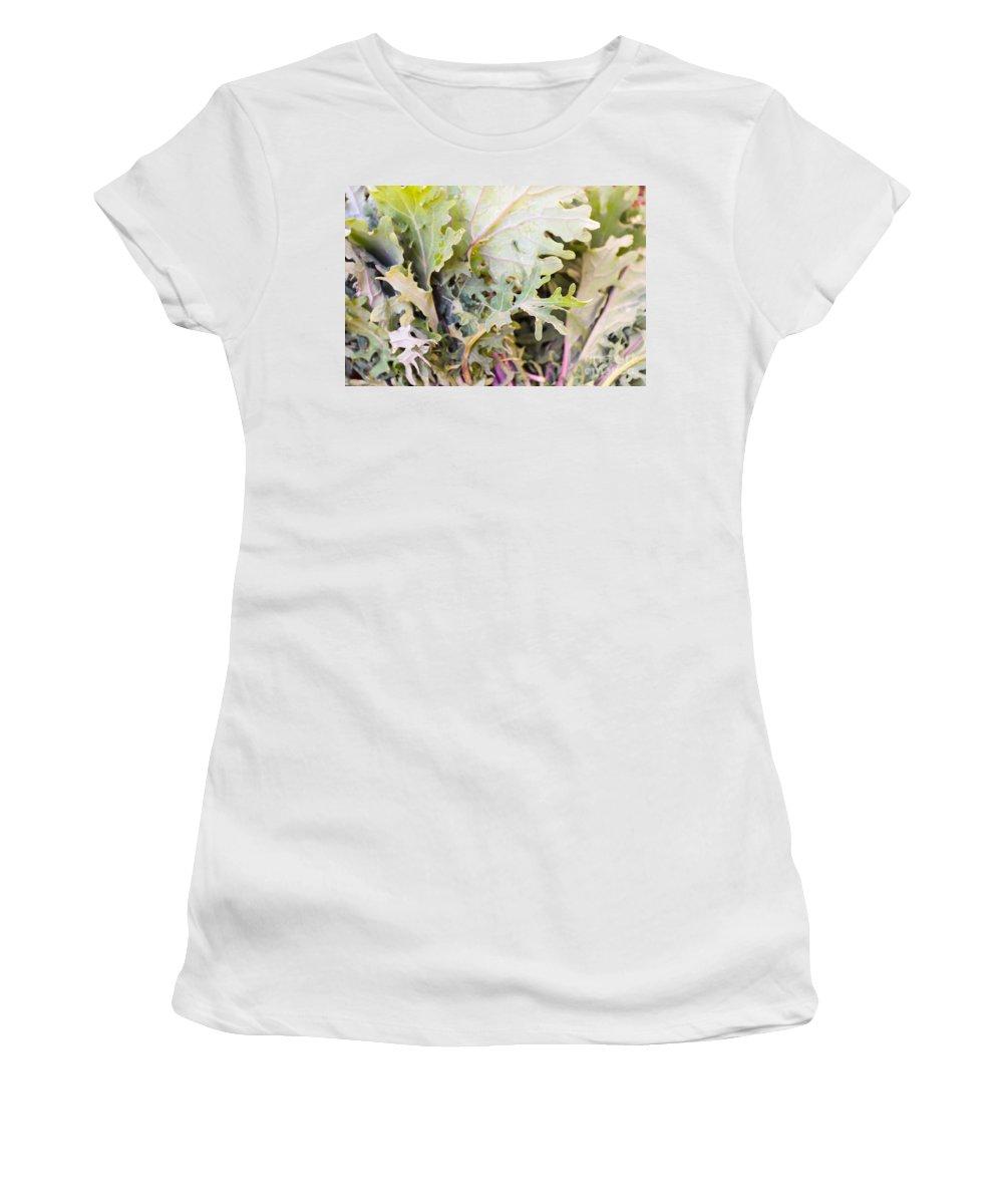 Mesclun Women's T-Shirt featuring the photograph Mesclun by Henrik Lehnerer