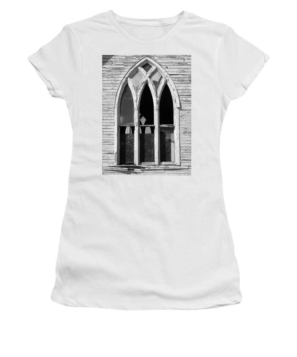 Methodist Women's T-Shirt featuring the photograph Methodist by Gale Cochran-Smith