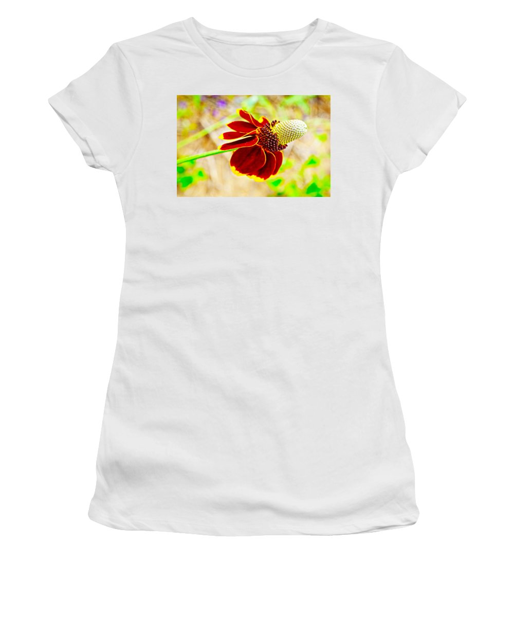 Mexican Women's T-Shirt (Athletic Fit) featuring the photograph Mexican Hat by Gary Richards