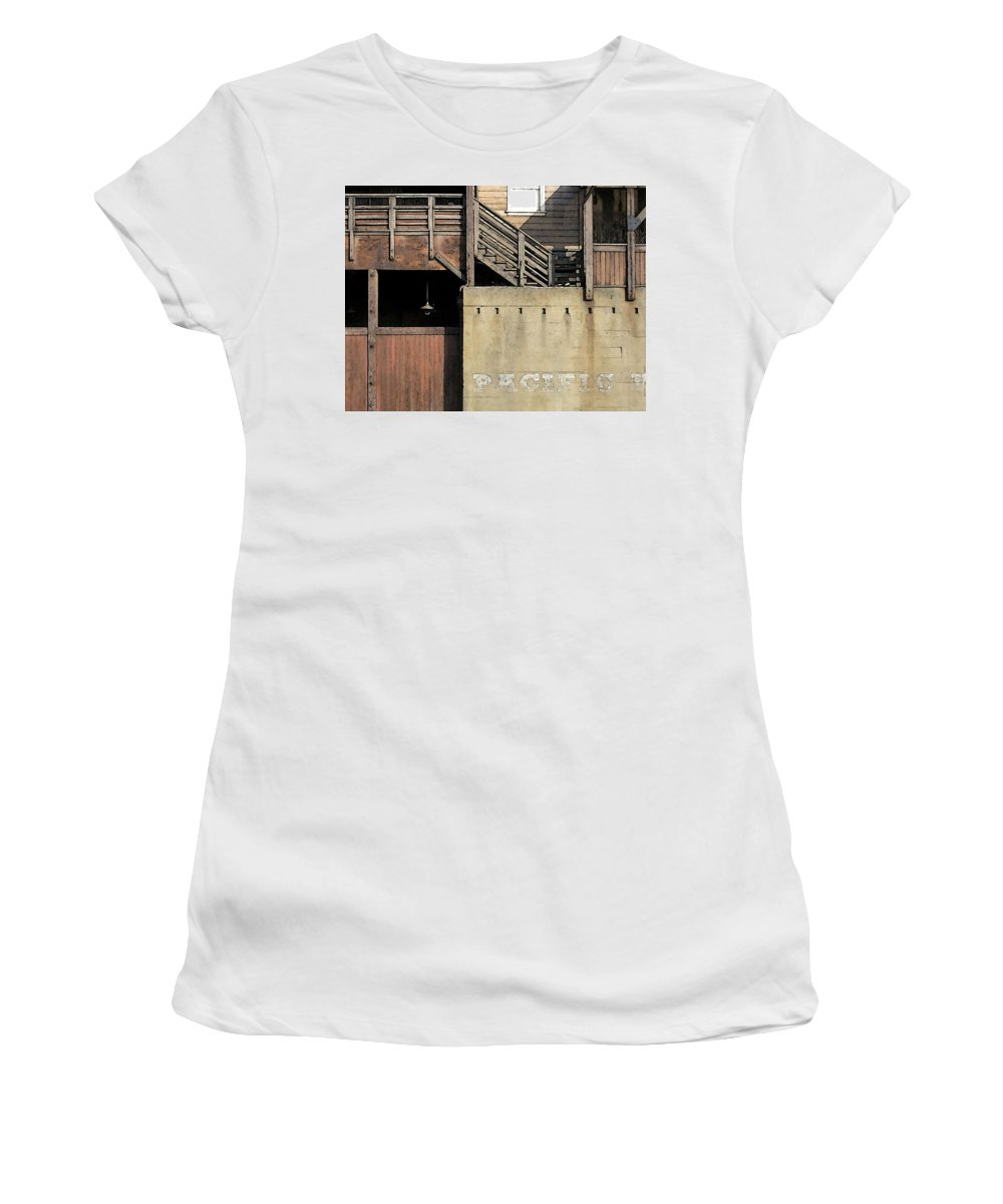 Digital Women's T-Shirt (Athletic Fit) featuring the digital art Monterey by David Hansen