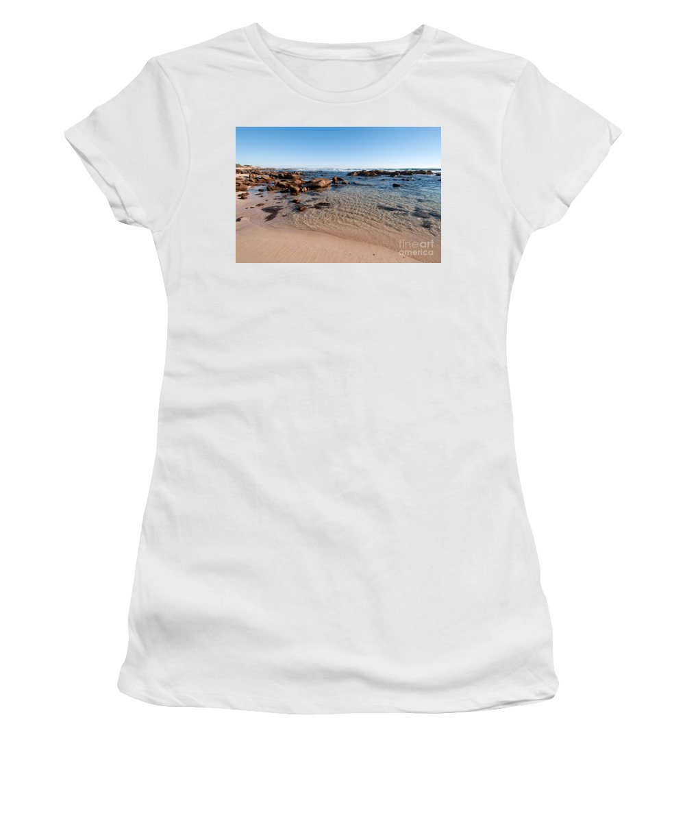 Australia Women's T-Shirt (Athletic Fit) featuring the photograph Moses Rock Beach 03 by Rick Piper Photography