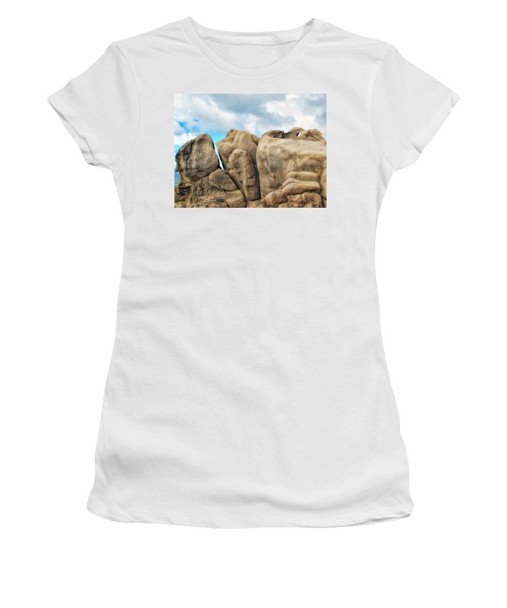 Hawaii Women's T-Shirt featuring the photograph Napili 69 by Dawn Eshelman