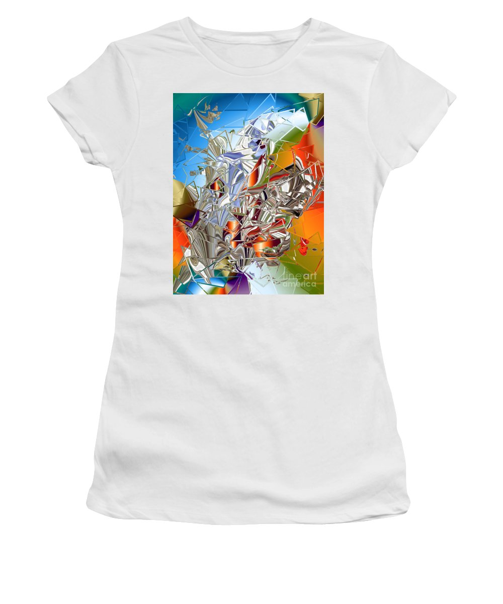 Women's T-Shirt featuring the digital art No. 232 by John Grieder