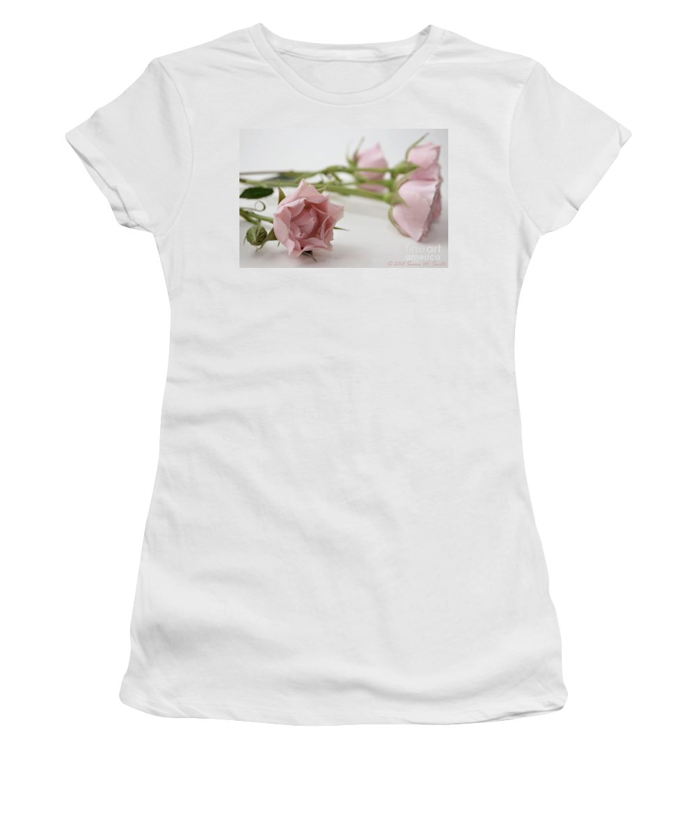 Photography Women's T-Shirt (Athletic Fit) featuring the photograph Old Fashioned by Susan Smith