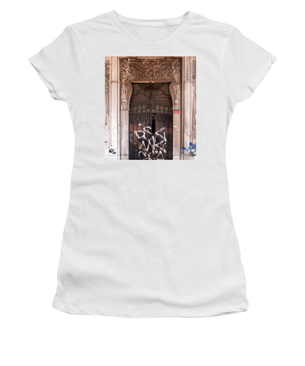 Istanbul Women's T-Shirt (Athletic Fit) featuring the photograph Once Was Splendid by Rick Piper Photography