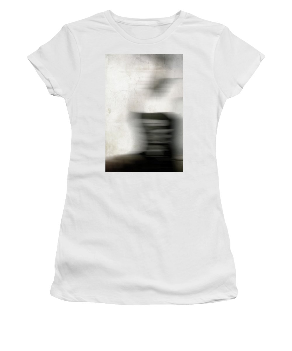 Lady Women's T-Shirt featuring the photograph Out On Main by The Artist Project