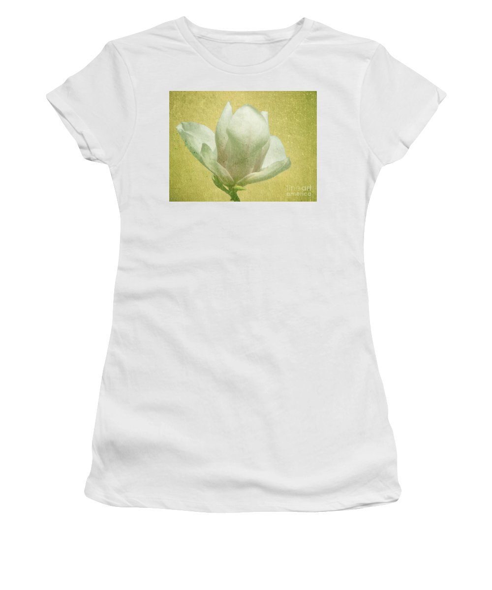 Bloom Women's T-Shirt (Athletic Fit) featuring the photograph Outer Magnolia by Jeffrey Kolker