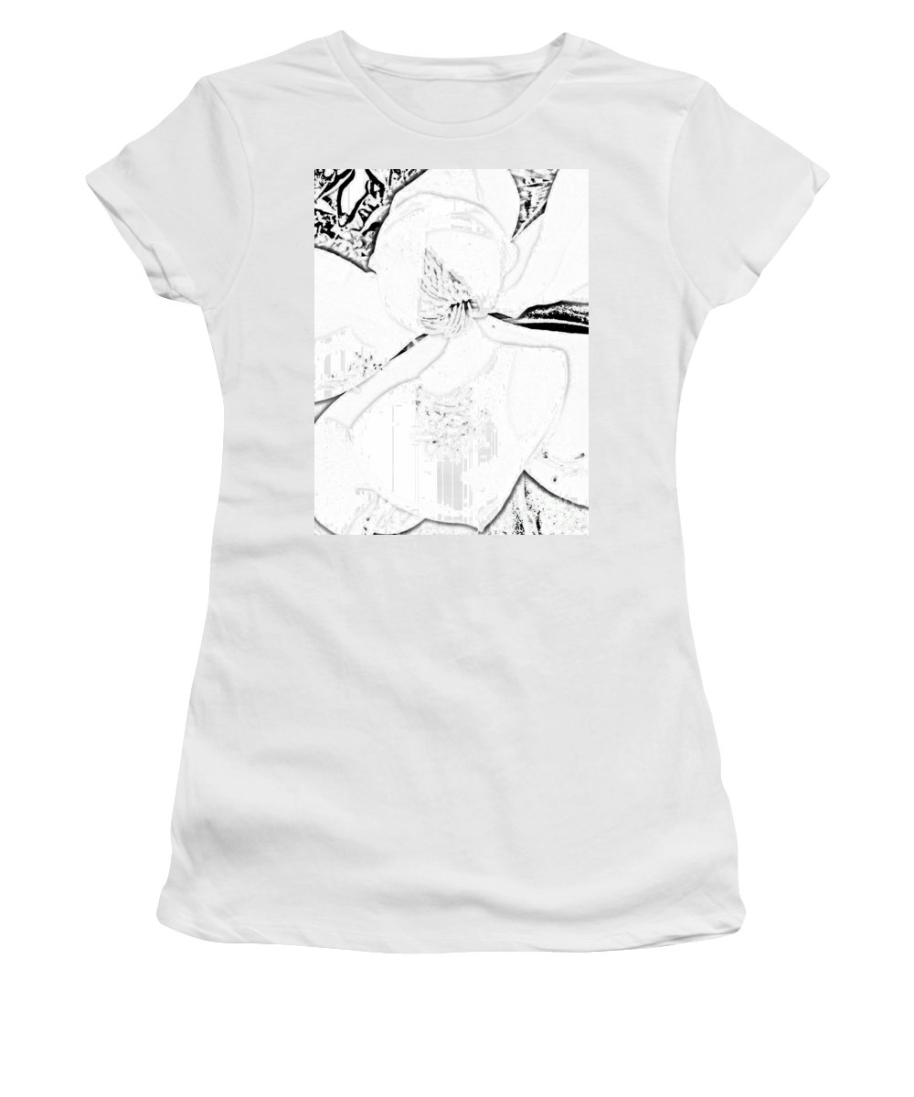 Pencil Drawing Women's T-Shirt featuring the digital art Pencil Me In by Tina Vaughn