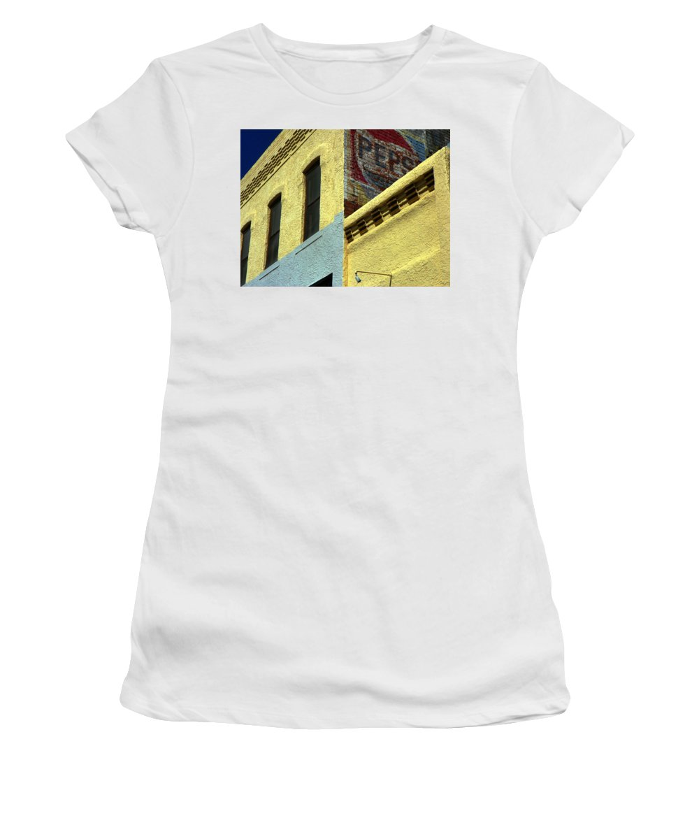 Expressive Women's T-Shirt (Athletic Fit) featuring the photograph Pepsi by Lenore Senior