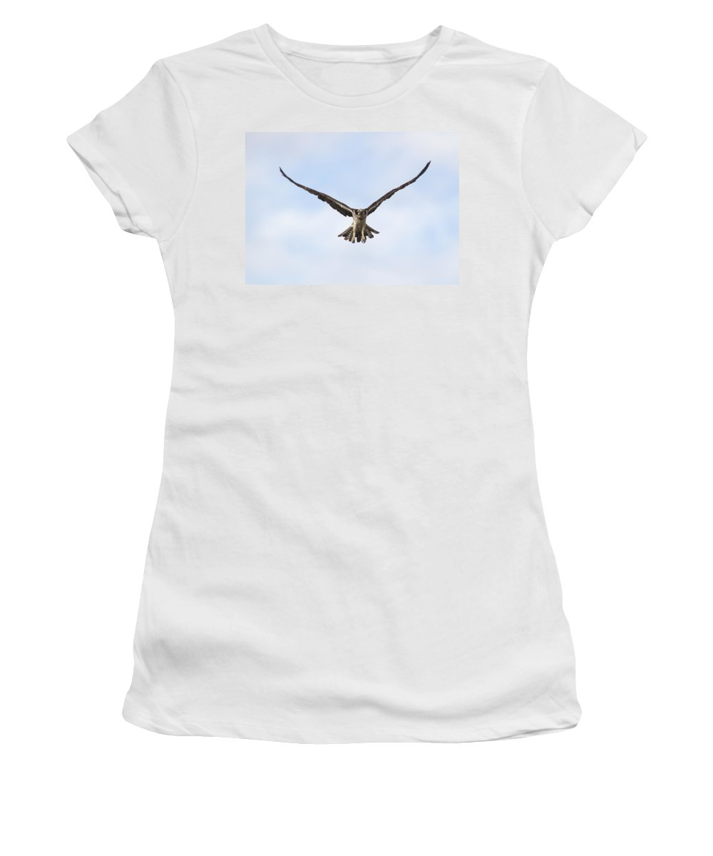 Doug Lloyd Women's T-Shirt (Athletic Fit) featuring the photograph Power Stroke by Doug Lloyd