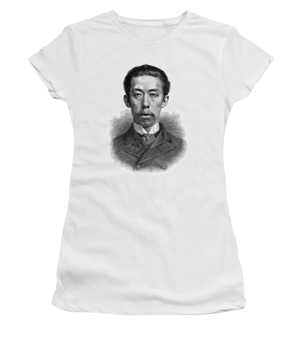 1884 Women's T-Shirt (Athletic Fit) featuring the painting Prince Nares Varariddhi (1855-1925) by Granger