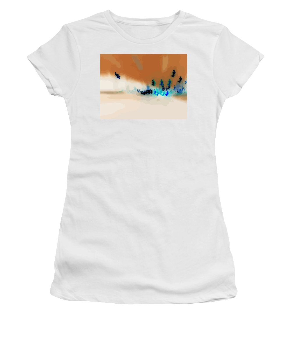 Light Women's T-Shirt featuring the digital art Rapture by Mary Cloninger