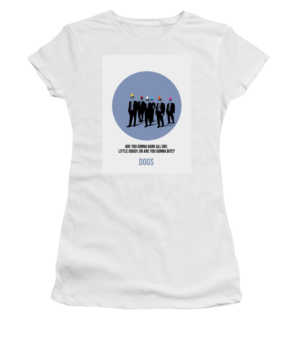 Reservoir Dogs Women's T-Shirt featuring the painting Reservoir Dogs Poster by Naxart Studio