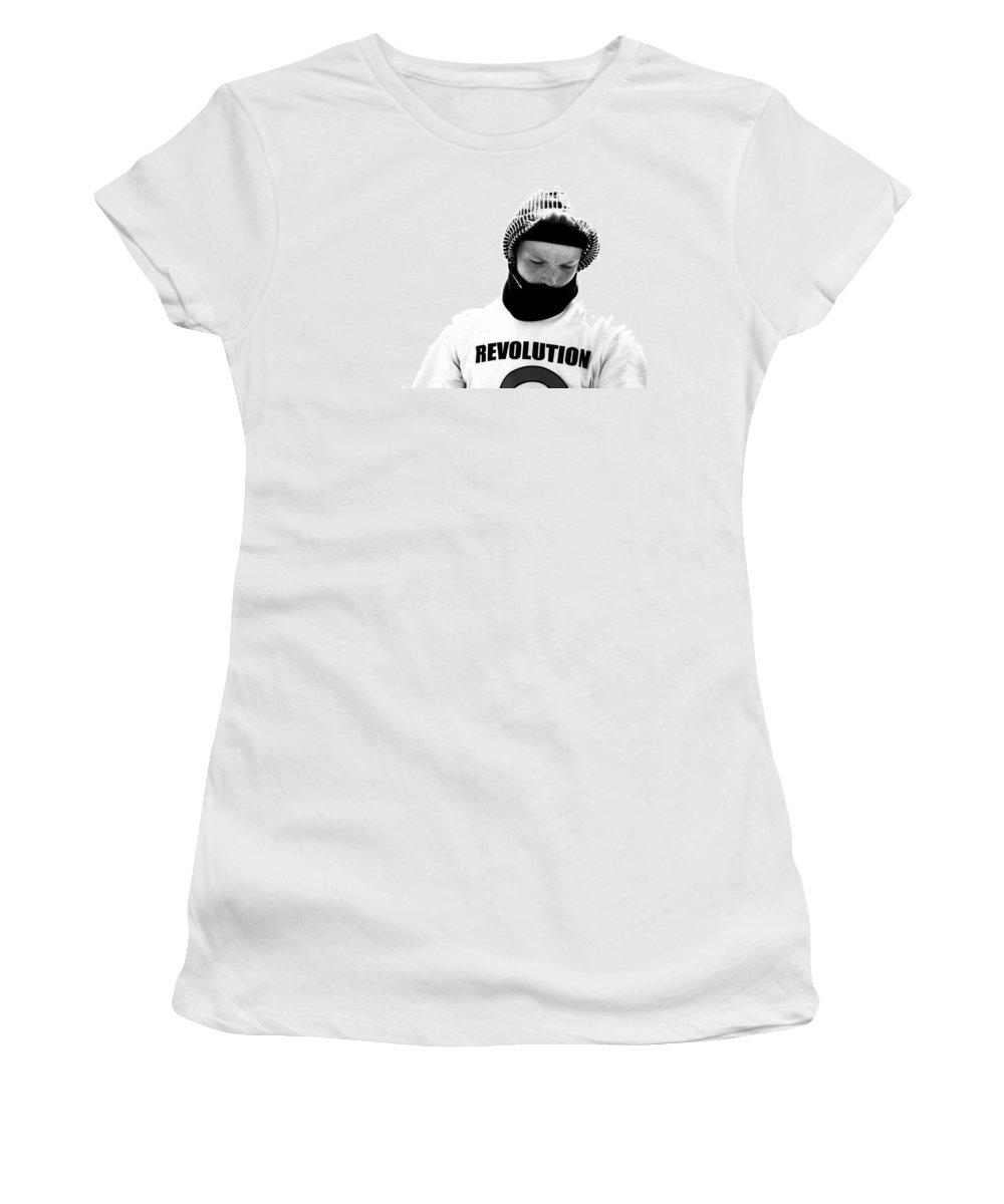 Blumwurks Women's T-Shirt featuring the photograph rEVOLution by Matthew Blum