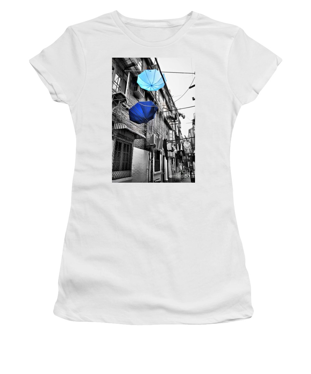 China Town Photographs Women's T-Shirts