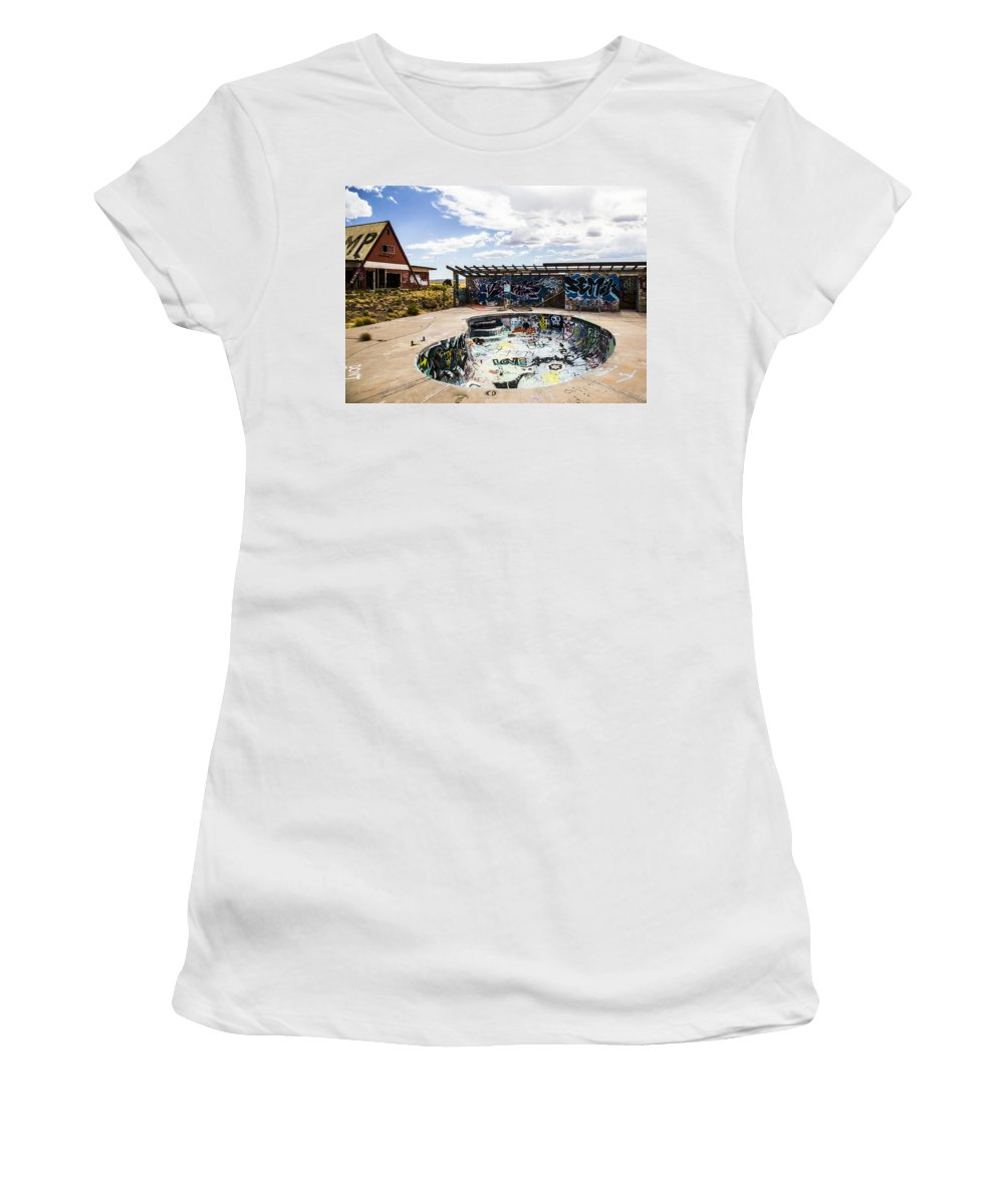 Route 66 Women's T-Shirt featuring the photograph Shred It by Angus Hooper Iii