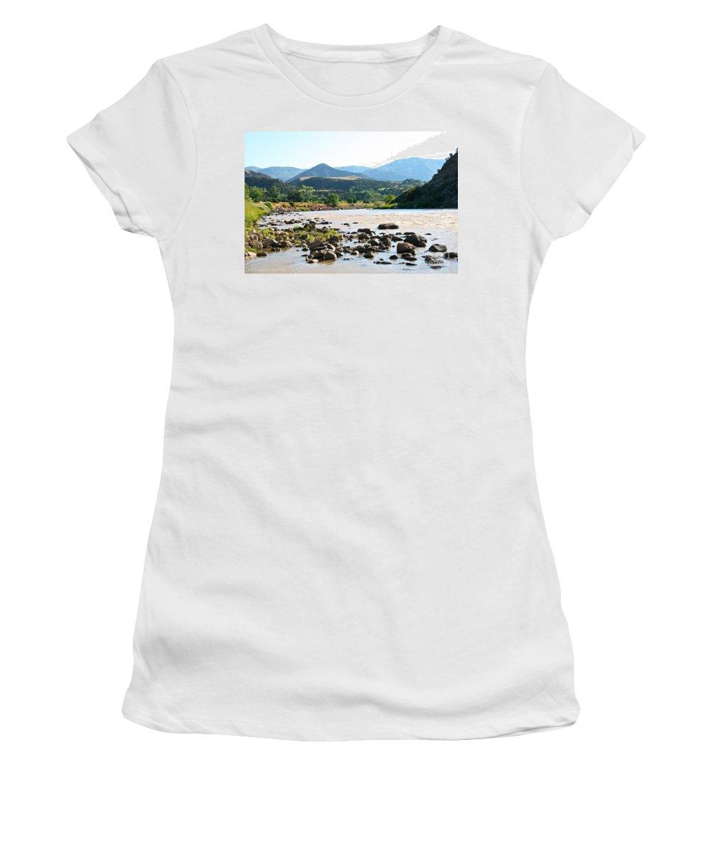 Colorado Women's T-Shirt featuring the photograph Silt Colorado by Susan Herber