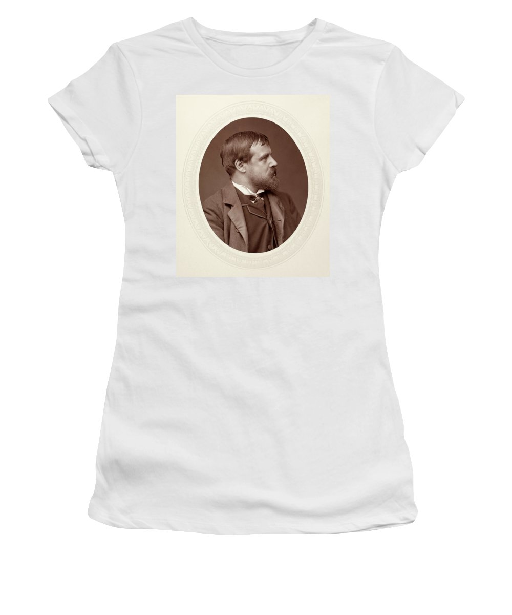 1880 Women's T-Shirt (Athletic Fit) featuring the photograph Sir Lawrence Alma-tadema (1836-1912) by Granger