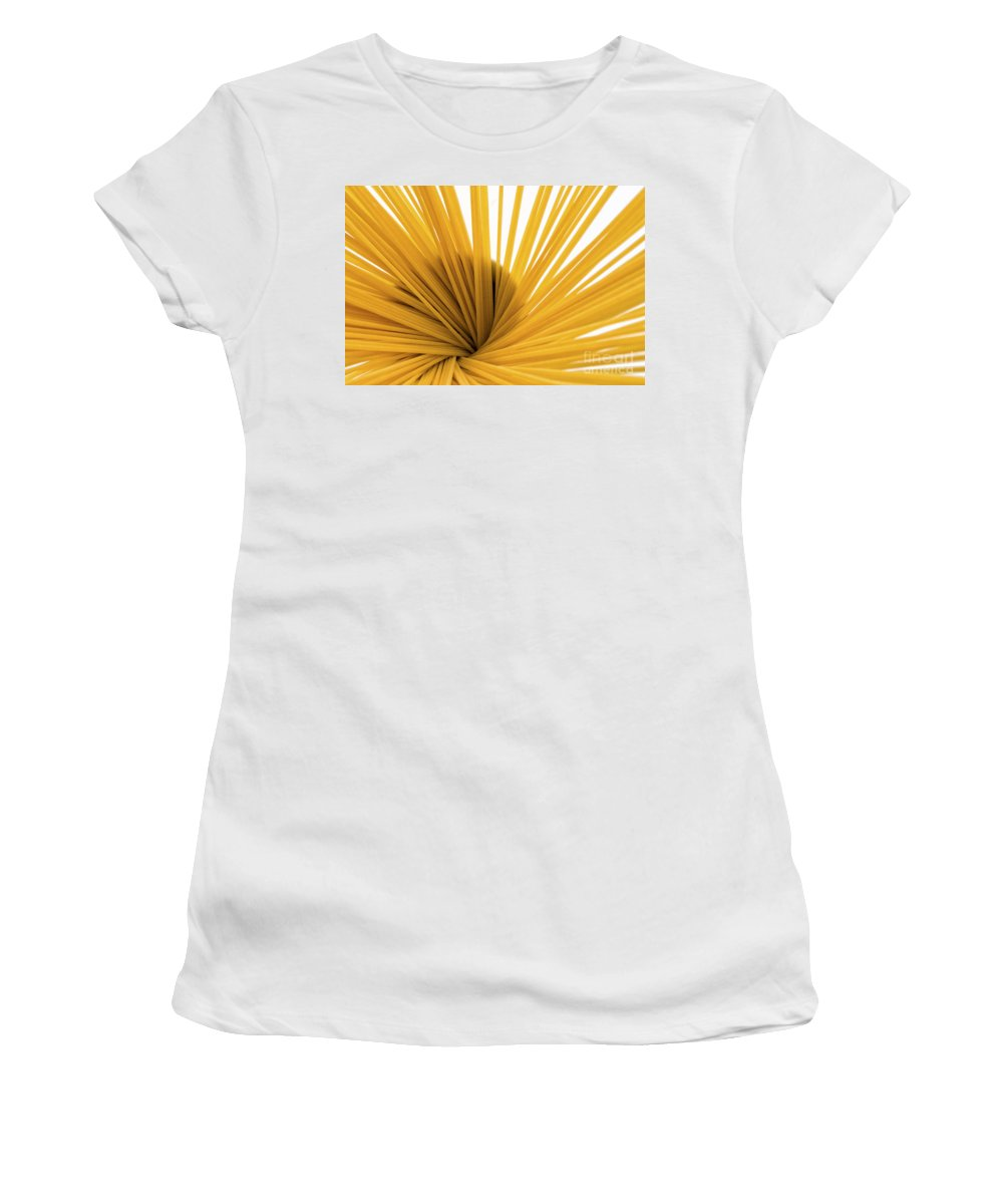 Food Women's T-Shirt (Athletic Fit) featuring the photograph Spaghetti Spiral by Julian Eales