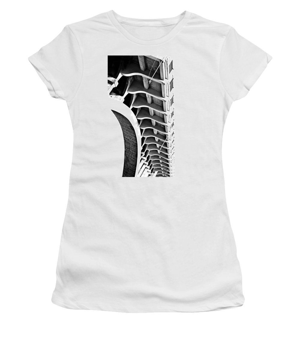 Blumwurks Women's T-Shirt featuring the photograph Spina by Matthew Blum
