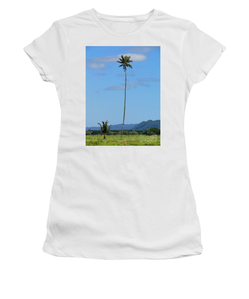 Tree Women's T-Shirt (Athletic Fit) featuring the photograph Standing Tall by Ben Yassa