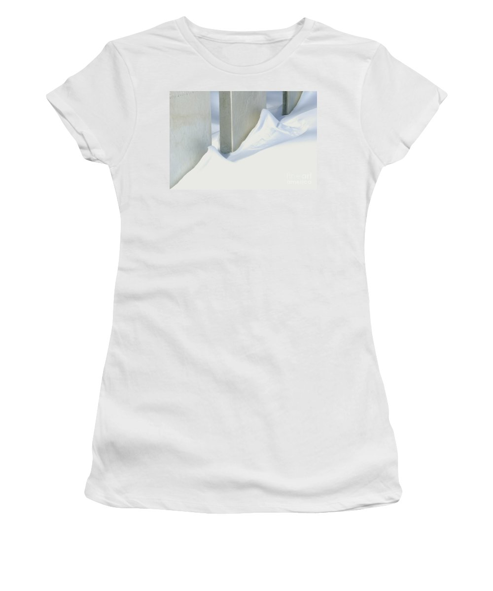 Historical Women's T-Shirt featuring the photograph Stone Cold by Paul W Faust - Impressions of Light