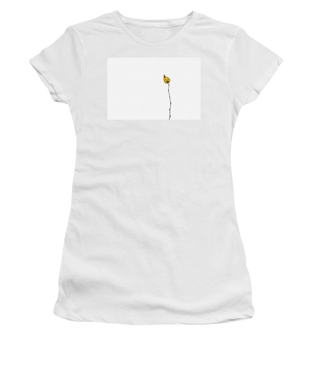 Abstract Women's T-Shirt (Athletic Fit) featuring the photograph String Theory - Featured 3 by Alexander Senin