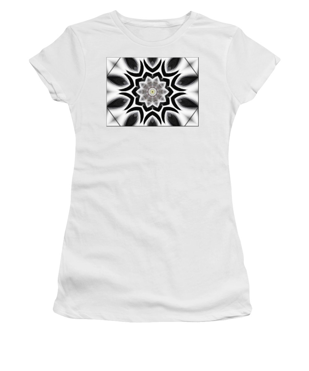 Tall Women's T-Shirt (Athletic Fit) featuring the digital art Tall Cool One by Michael Damiani